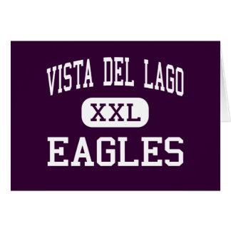 Vista del Lago - Eagles - alto - Folsom California Tarjeta De Felicitación
