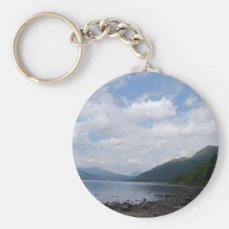 Vista del lago llaveros personalizados