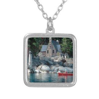 Vista del lago que ve en canoa Tahoe Joyeria Personalizada
