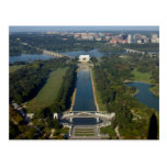 Vista del Lincoln memorial Postal