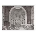Vista del mercado del trigo y de la cúpula postal