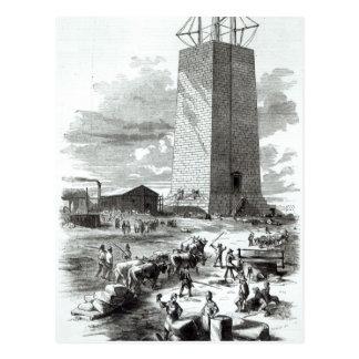 Vista del monumento de Washington Tarjetas Postales