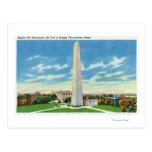 Vista del monumento del Bunker Hill Postal