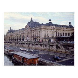 Vista del Musee d Orsay del noroeste Tarjetas Postales