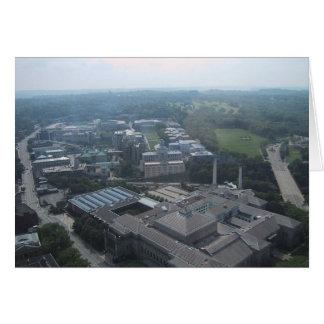 Vista del museo de Pittsburgh de la historia natur Tarjeta De Felicitación