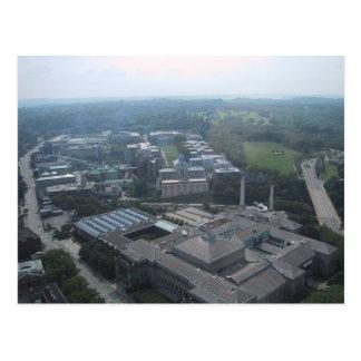 Vista del museo de Pittsburgh de la historia Postales