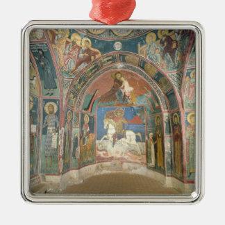 Vista del narthex, 1332-3 ornamentos para reyes magos
