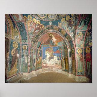 Vista del narthex, 1332-3 poster