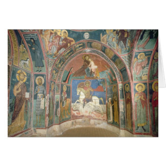 Vista del narthex, 1332-3 felicitación