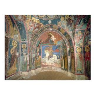 Vista del narthex, 1332-3 postal