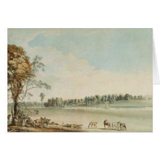 Vista del noroeste de la casa de campo de Wakefiel Tarjeta De Felicitación