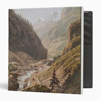 Vista del nuevo paso de Simplon 1811