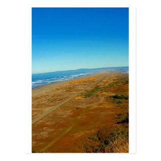 Vista del Océano Pacífico del pen¢asco de la tabla Postal