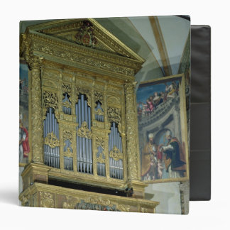 "Vista del órgano de la iglesia, c.1590 carpeta 1 1/2"""