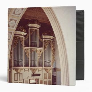 "Vista del órgano en la iglesia en Rotha Carpeta 1 1/2"""