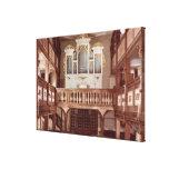 Vista del órgano impresiones en lona estiradas