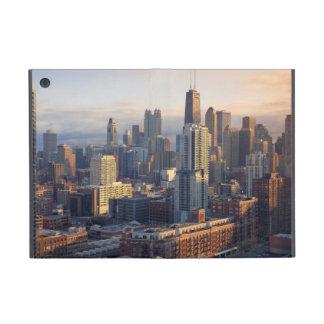 Vista del paisaje urbano con la luz fantástica iPad mini cárcasa