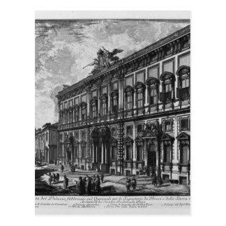 Vista del palacio de Farnese de Juan Battista Postal