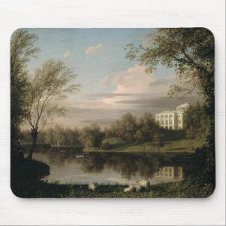 Vista del palacio de Pavlovsk, c.1800 Tapetes De Raton