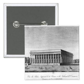 Vista del palacio imperial de la bolsa pin