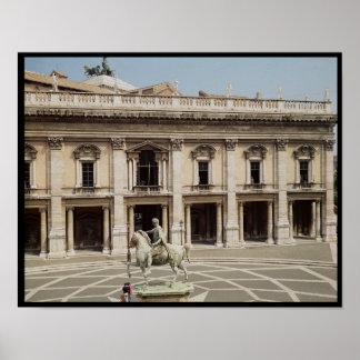 Vista del Palazzo Nuovo Posters