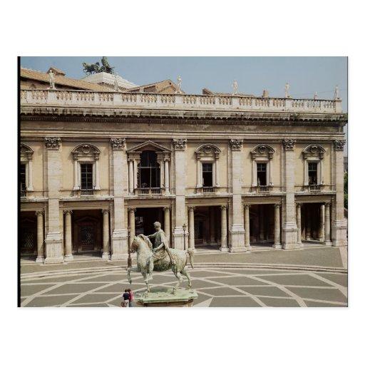 Vista del Palazzo Nuovo Tarjetas Postales