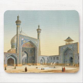 Vista del patio del Mesdjid-i-Shah, Isfah Tapete De Ratones