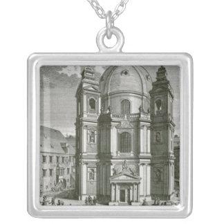Vista del Peterskirche Colgante Cuadrado