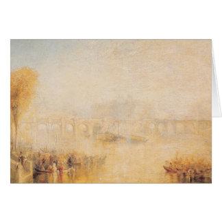 Vista del Pont Neuf, París Tarjeta De Felicitación