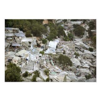 Vista del Port-au-Prince, Haití Cojinete