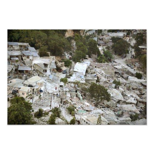 Vista del Port-au-Prince, Haití Fotografía