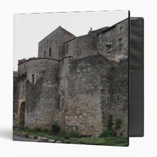 Vista del pueblo fortificado (foto) 2