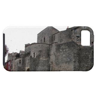 Vista del pueblo fortificado (foto) 2 funda para iPhone SE/5/5s