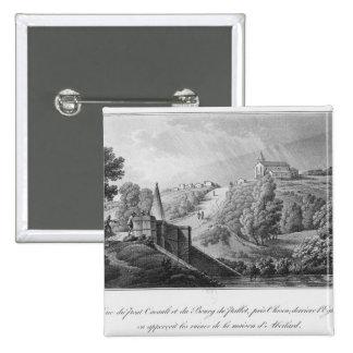 Vista del puente de Cacault y del pueblo de Pin Cuadrado