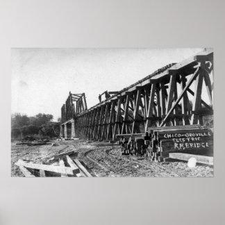 Vista del puente de Chico-Oroville Impresiones