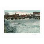 Vista del puente de la calle de la corte que muest postales