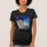 Vista del puente de la capilla en Alfalfa, Suiza Camisetas