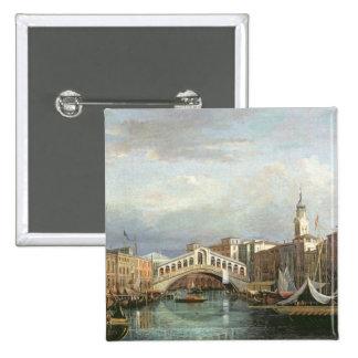 Vista del puente de Rialto en Venecia Pin