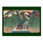 Vista del puente sobre el río de Ina, Nojiri por Postal