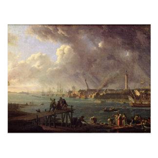 Vista del puerto de Lorient Postales