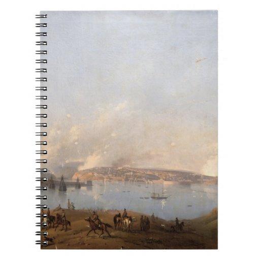 Vista del puerto de Sebastopol durante el crimen Libreta Espiral