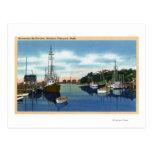 Vista del puerto, Martha's Vineyard Postal