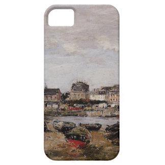 Vista del puerto, Trouville de Eugene Boudin iPhone 5 Carcasa