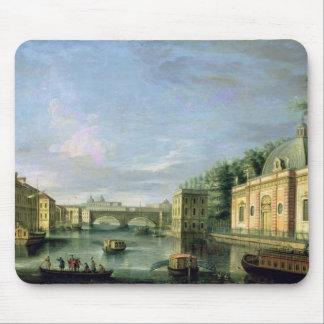 Vista del río de Fontanka en St Petersburg Tapetes De Raton