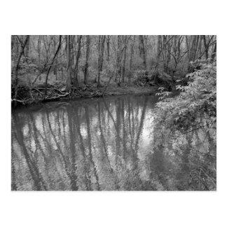 Vista del río postal