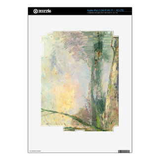 Vista del Sena, París (aceite en lona) iPad 3 Skin
