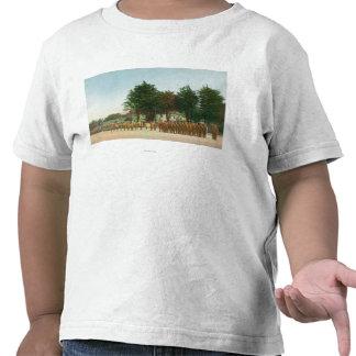 Vista del soporte de guardia Presidio en la Camiseta
