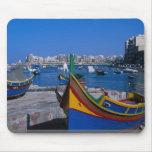 Vista del St. juliana, Malta Tapetes De Ratones