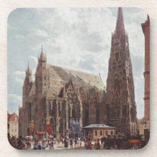 Vista del Stephansdom de la acción im Eisen Platz Posavaso