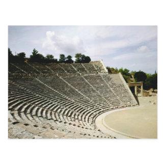Vista del teatro, c.360 A.C. Postal